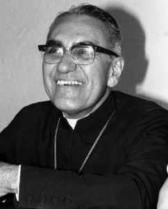 Archbishop Oscar Romero at home, 20 November 1979. Known locally as Monseñor Romero, Archbishop Romero was assassination by a gunman inside El Salvador's cathedral shortly after his homily on 24 March 1980. His death provoked international outcry for human rights reform in El Salvador. (Photo by Alex Bowie/Getty Images)
